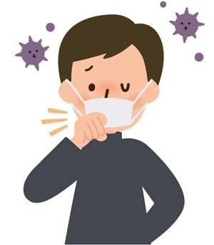 長引く咳は咳喘(ぜんそく)の危険