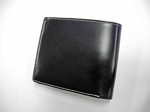 グレンチェック財布 外観