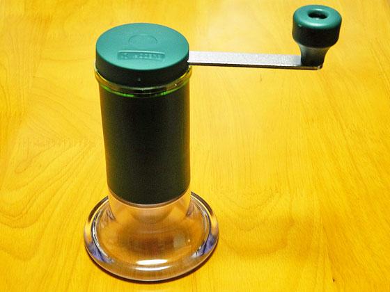 京セラのセラミックお茶ミルで粉末緑茶を作ろう