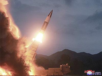 北朝鮮の新型ミサイル